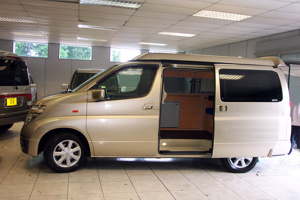 Imported Nissan Elgrand