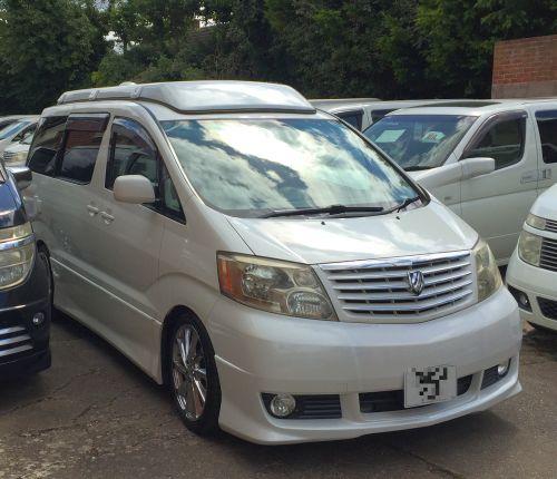Imported Toyota Alphard